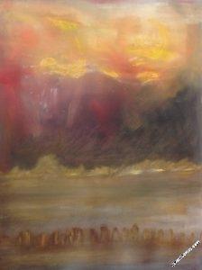vision30-tsunami - Tableau par Gerard Berner