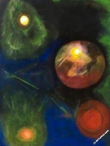 vision37-au-dela - Tableau par Gerard Berner