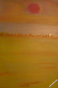 vision40-desert - Tableau par Gerard Berner