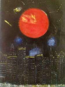 New York 2 - Tableau par Gerard Berner